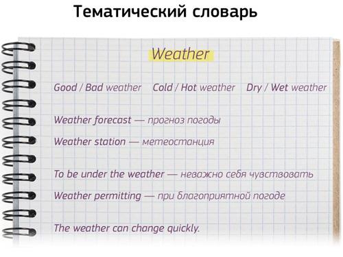 Ведение тематического словаря поможет запомнить много слов на английском