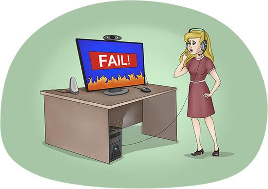Как быть, если во время занятия по Skype возникают технические неполадки