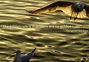Выбирайте сами, как вам удобно учиться: по строгой программе или в живом общении. «Золотое правило: нет никаких золотых правил», — Бернард Шоу