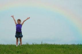 Одолевают мрачные мысли? Помните, после дождя приходит радуга, после трудностей — победа.