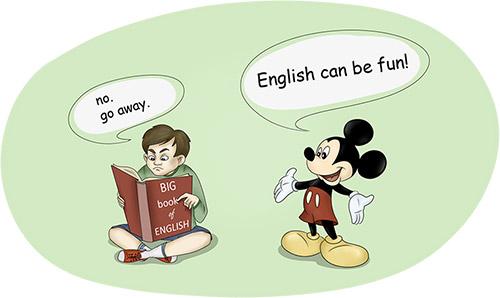 Вредный совет: учите английский только по учебникам