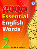4000 Essential English Words: Elementary
