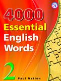 4000 Essential English Words: Elementary