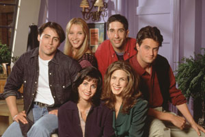 А вы знаете, что 26% изучающих английский язык по фильмам и сериалам предпочитают сериал «Друзья»?