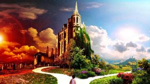 Рай — это американская зарплата, русская жена, английский дом и китайская пища. Китайский дом, английская еда, американская жена и русская зарплата — это ад. Без знания английского трудно попасть на «райскую» работу. :-)