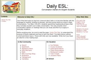 Daily ESL предлагает ежедневно развивать навыки аудирования на сайте