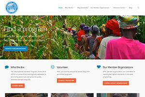 сайт Международной ассоциации добровольческих программ