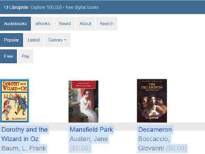 Librophile - ресурс для совершенствования навыков аудирования