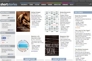 Само название сайта Short Stories говорит, что здесь вы сможете найти короткие неадаптированные тексты для чтения