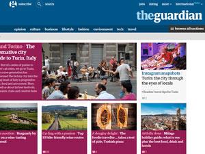 The Guardian - самая известная газета Великобритании.