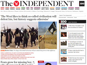 The Independent поможет расширить ваш кругозор и обогатит ваш словарный запас полезными фразами.