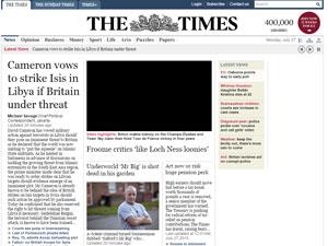"""Одна из самый серьезных газет современности """"The Times"""" станет вашим надежным источником новых слов в английском"""