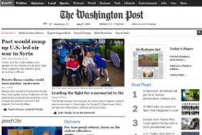 """Узнавайте новости первым и улучшайте английский вместе с """"The Washigton post"""""""