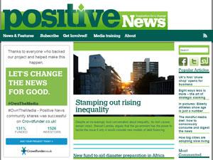 """Издание """"The positive news"""" даст вам много полезного материала для совершенствования английского"""