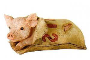 Идиома to buy a pig in a poke — купить кота в мешке