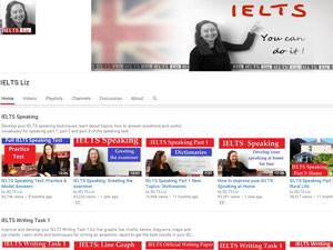 На Youtube канале преподавателя Liz вы найдете практические советы по подготовке к экзамену