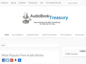 Ресурс audiobooktreasury - это кладезь интересных аудиокниг на английском