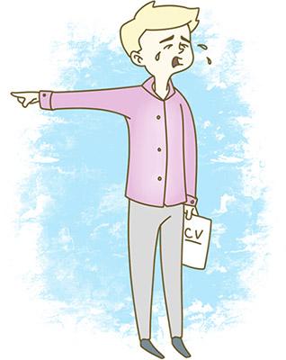 Вредный совет: пожалуйтесь на коллег и начальство с предыдущей работы, расскажите, как они плохо обращались с вами