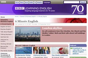 6 Minute English - подкасты от авторитетного канала BBC