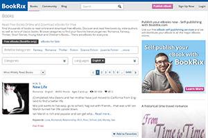 Онлайн-библиотека BookRix