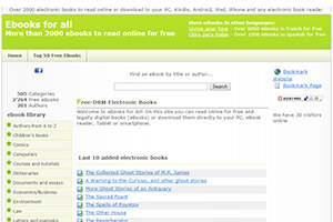 Бесплатная библиотека Ebooks for all