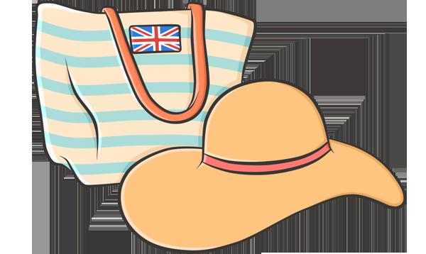Английский на пляже — разговорник для туристов