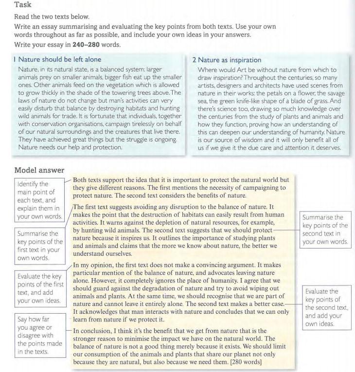 Пример эссе для экзамена CPE