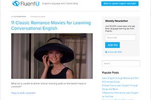 Блог по изучению английского языка FluentU
