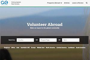 Сайт организации Go Overseas