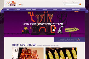 побалуйте себя и своих гостей на хеллоуин сладостями с помощью hersheys