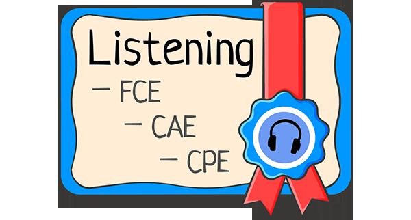 Секреты подготовки к части Listening (аудирование) экзаменов FCE, CAE, CPE