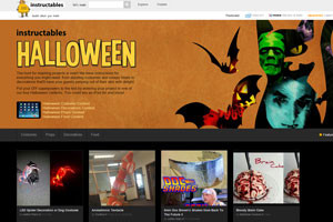 instructables поможет вам подготовиться к хеллоуину