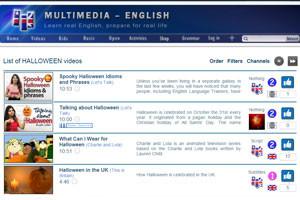 на сайте multimedia-english можно найти обучающие упражнения