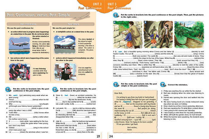 страница Grammarway 2
