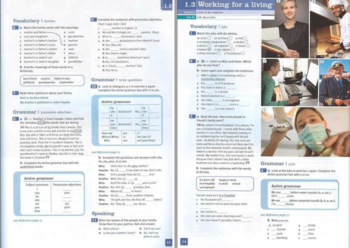 страница New Total English