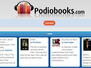 На podiobook вы найдете аудиокниги на любой вкус
