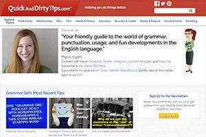 Блог по изучению английского языка Quick and Dirty Tips