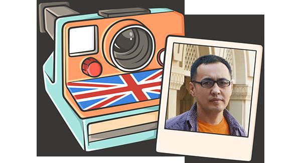 Бизнесмен учит английский, чтобы разговаривать с иностранными партнерами на равных