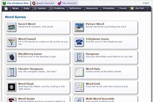 The Problem Site — сайт с онлайн-играми для изучения английского