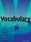 Vocabulary in Practice: Basic