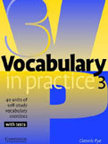 Vocabulary in Practice: Pre-Intermediate